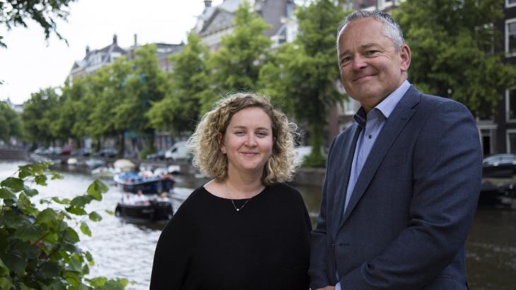 Jessica Viles en Gerrit Nagel