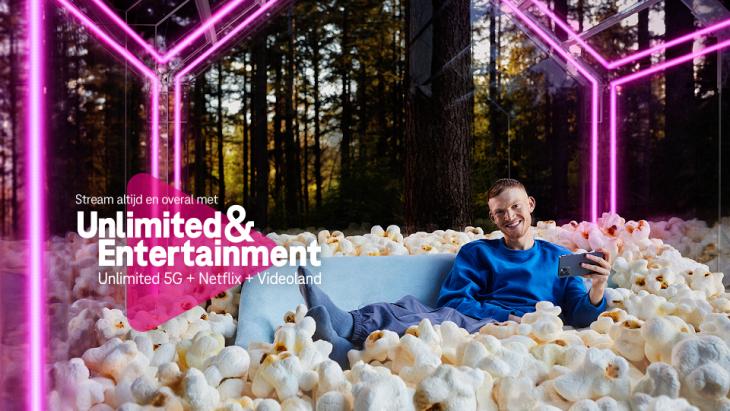 T-Mobile breidt abonnement-portfoliouit: onbeperkt 5G met Netflix en Videoland
