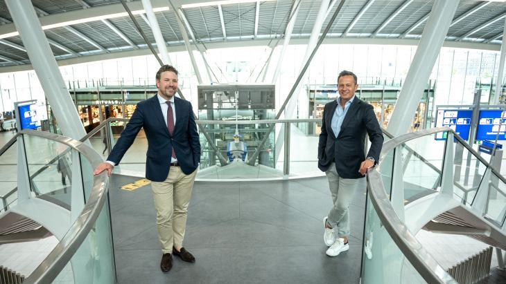 Ivo Steffens (links) en Rik Ledder.
