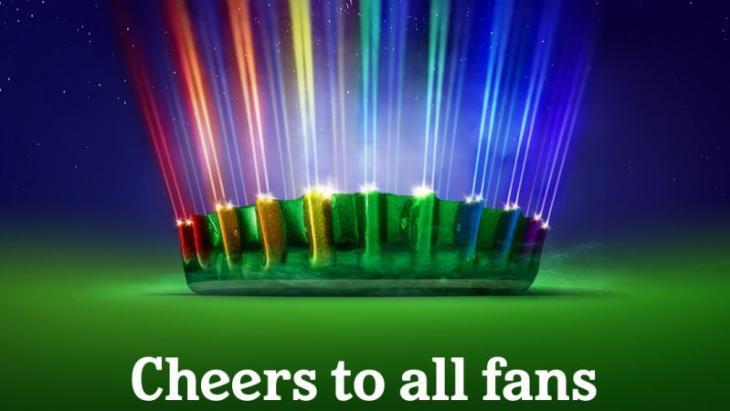 Heineken haakt in op regenboogverlichtings-verbod Uefa