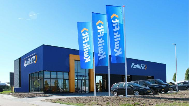 De eerste energieneutrale garage van Kwikfit, in Utrecht