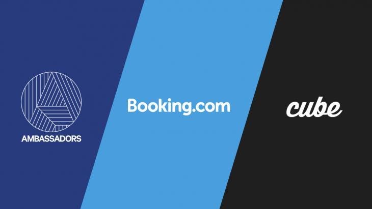 Booking.com kiest Ambassadors als wereldwijde partner video performance marketing