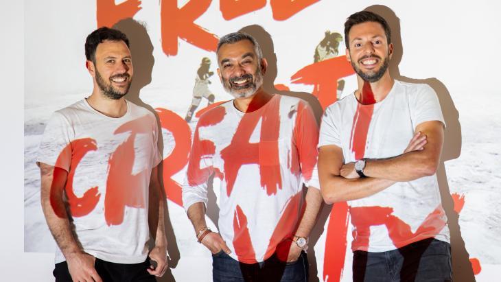 César García, Sandeep Chawla en Julio Álvarez