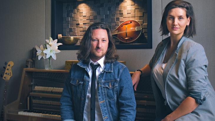 Heron Music - Guido Maat en Ella Sonke