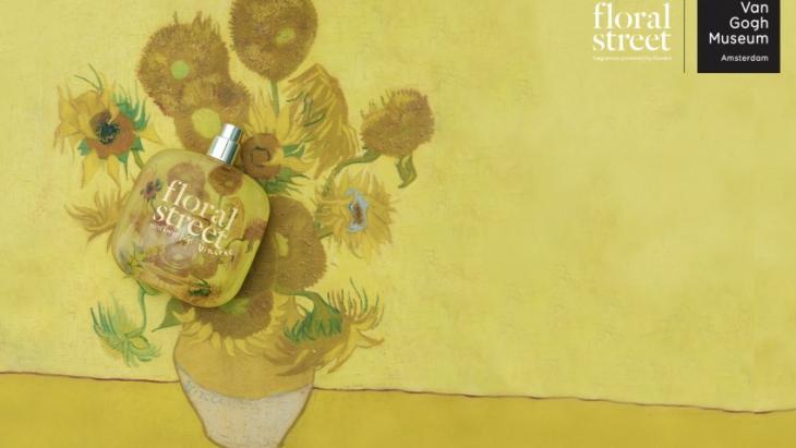 Van Gogh Museum brengt de geur van kunstwerk Zonnebloemen uit als parfum.