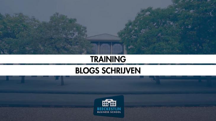 Beeckestijn opleidingen: Blogs Schrijven