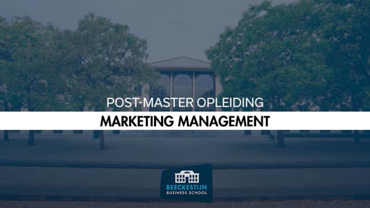 Beeckestijn opleidingen: Marketing Management