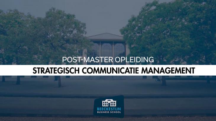 Beeckestijn opleidingen: Strategisch Communicatie Management