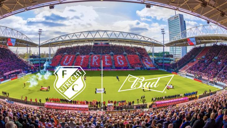 Biermerk Bud wordt Official Partner van Voetbalclub FC Utrecht