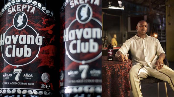 Havana Club en Skepta ontwerpen nieuwe limited edition Havana Club 7-fles