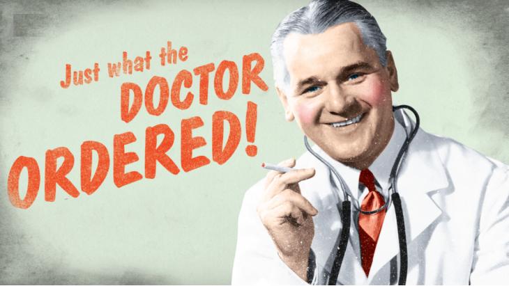 De tabaksindustrie communiceerde in het verleden met onderzoeken die de 'gezondheidsvoordelen' van sigaretten zouden bewijzen