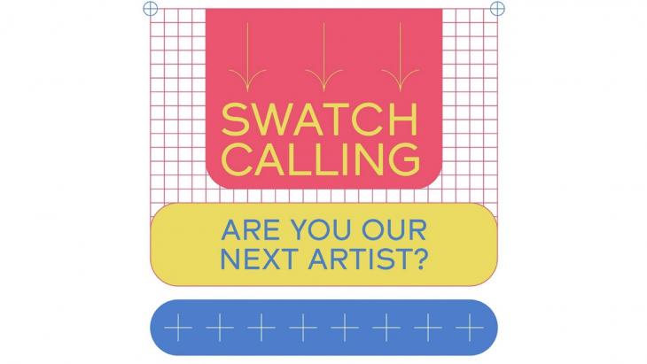 Swatch roept kunstenaars op tot innovatieve creatie