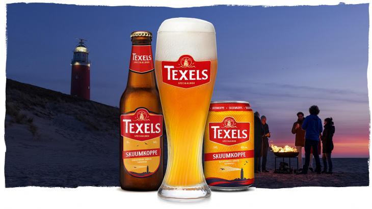 Texels speciaalbier lanceert nieuwe merkidentiteit met bijbehorende campagne