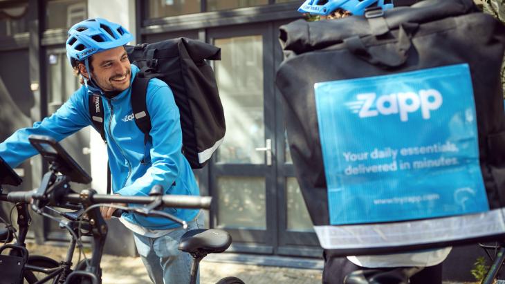 Na Gorillas, Flink en Getir ook flitsbezorger Zapp gelanceerd in Nederland
