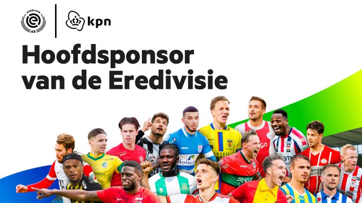 KPN hoofdsponsor Eredivisie