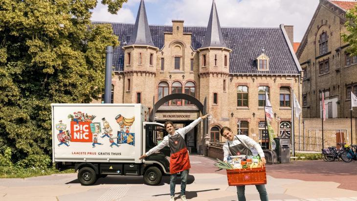 Online supermerk Picnic set yn Ljouwert útein
