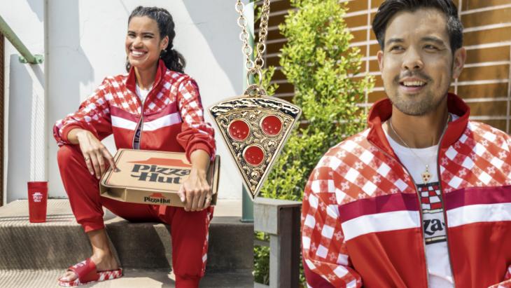 Na Febo en McDonald's lanceert ook Pizza Hut eigen kledinglijn voor fans
