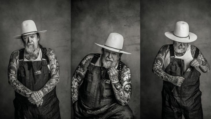 G-Star Raw ontwikkelt salopette met tattoo-kunstenaar Henk Schiffmacher