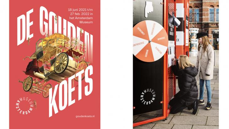 Gouden Koets-expositie en pop-up-campagne