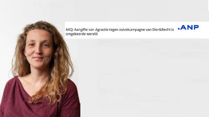 Frederieke Schouten van Dier&Recht en de kop van haar expertquote