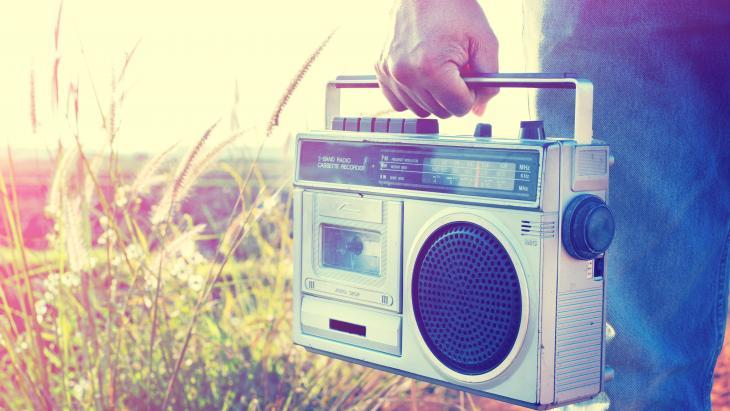 Radio buiten