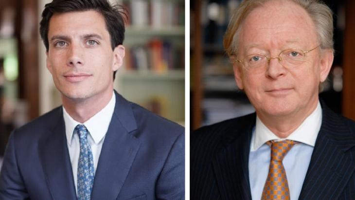 Clemens Stassen en Charles Huijskens