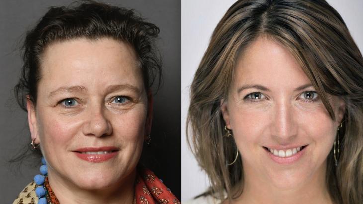 Louise Meijer en Laura van Gestel