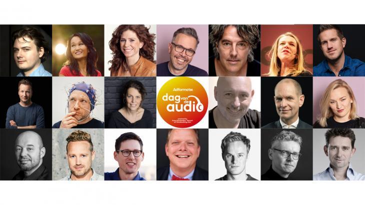 Dag van de audio - Sprekers