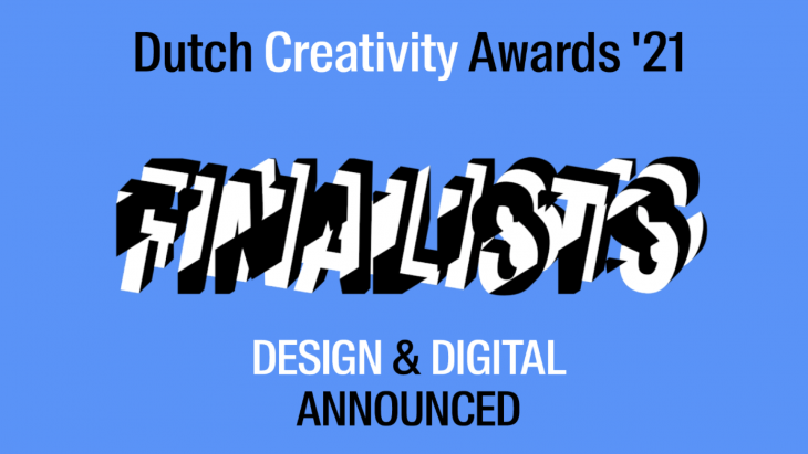 Dit zijn de finalisten van de Dutch Creativity Awards in de categorieën Design & Digital