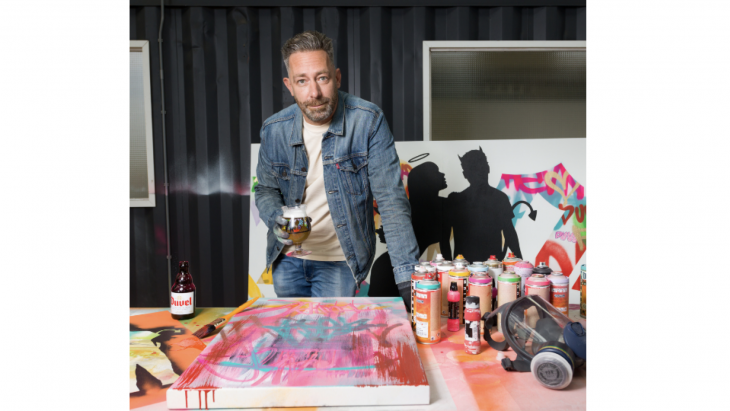 Duvel speelt met nieuwe campagne in op street art-trend