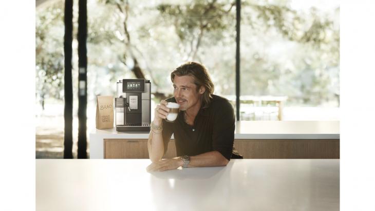 Brad Pitt wereldwijd nieuwe gezicht van De'Longhi