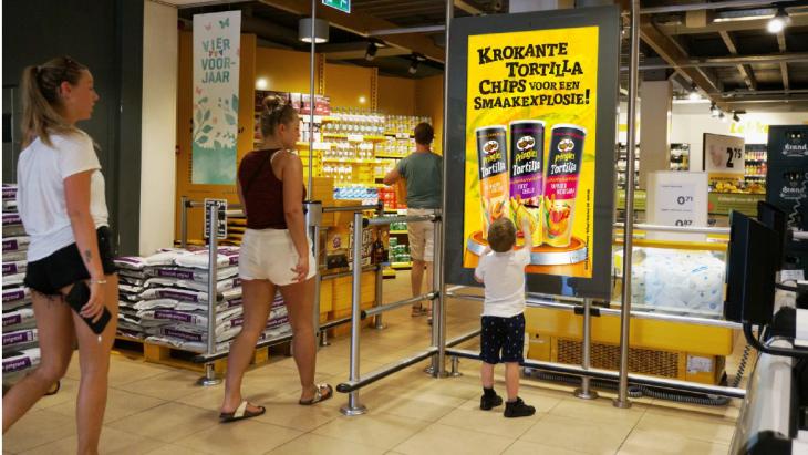 Supermarktdooh