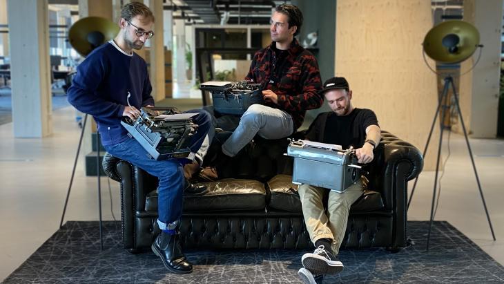 Drie digitaal creatieven van Media.Monks wonnen de pitch voor JustDiggit