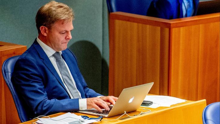 Pieter Omtzigt in de Tweede Kamer