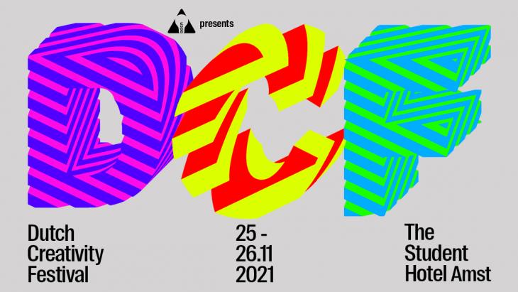 ADCN organiseert opnieuw het Dutch Creativity Festival