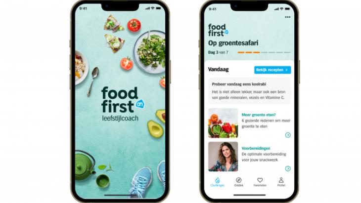 Albert Heijn lanceert FoodFirst Leefstijlcoach-app