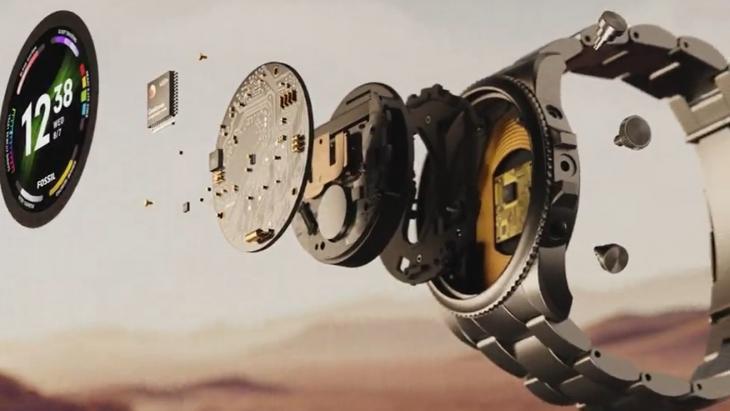 Beeld van website Fossil met de gen6-smartwatches