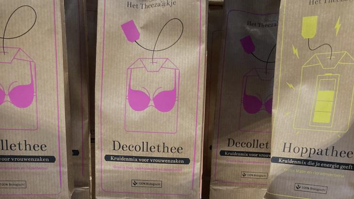 Social enterprise 'Het Theezaakje' deinst niet terug na kritiek op thee-namen