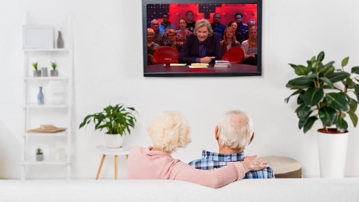 DWDD-kijkende ouderen