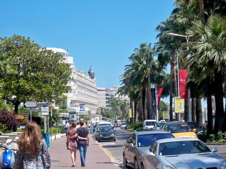 Cannes Promenade