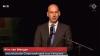 Wim van der Weegen tijdens live NOS-uitzending bij presentatie van het MH-17-rapport