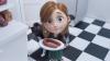 Still uit de animatie 'Times are changing' voor vegetarische worst van Unox
