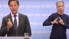 Mark Rutte en de gebarentolk