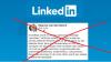 LinkedIn haal post weg